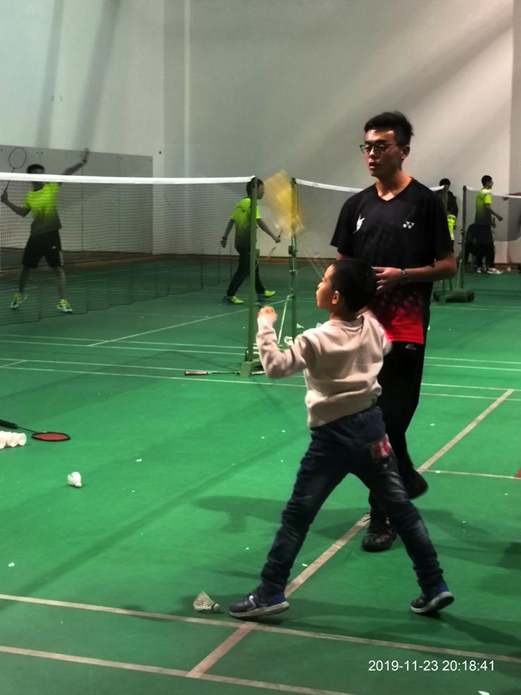 第一次羽毛球试训